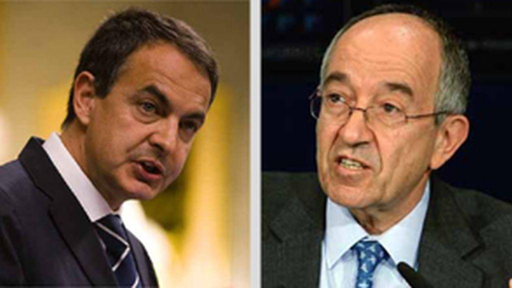 Zapatero y Fernández Ordóñez