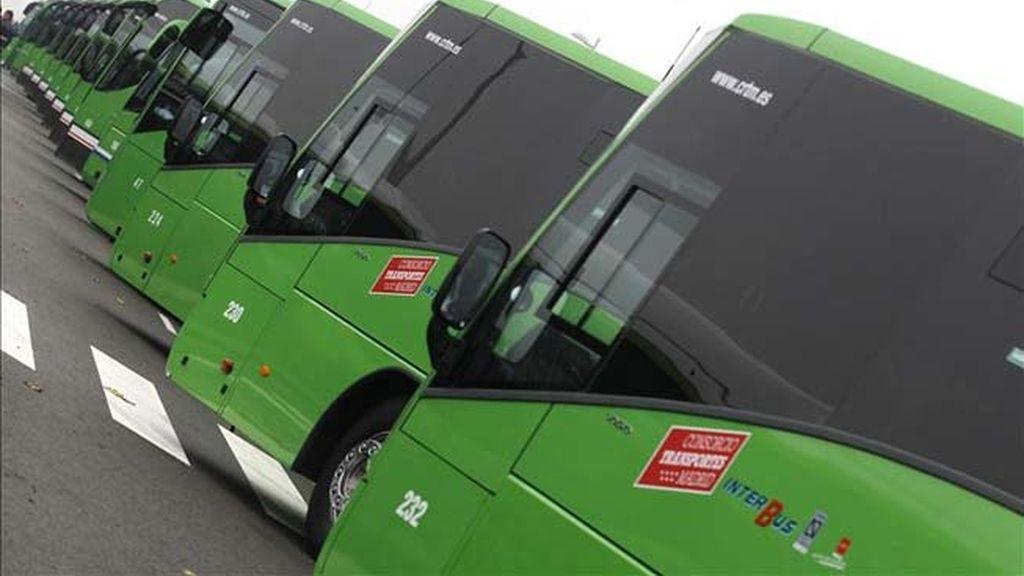 El billete de autobús interurbano sube una media del 2,45%