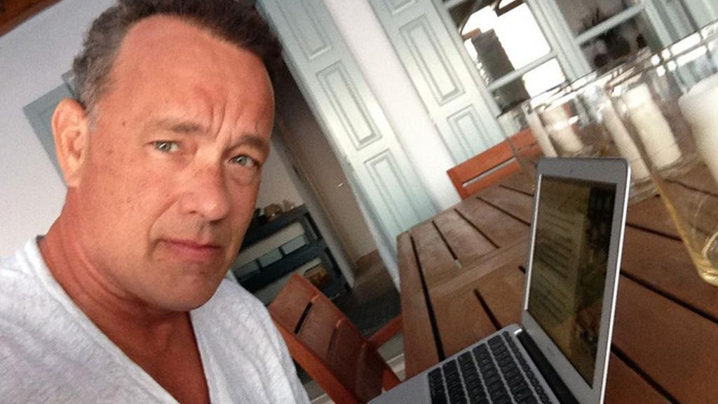 Hanx Writer, tom Hanks