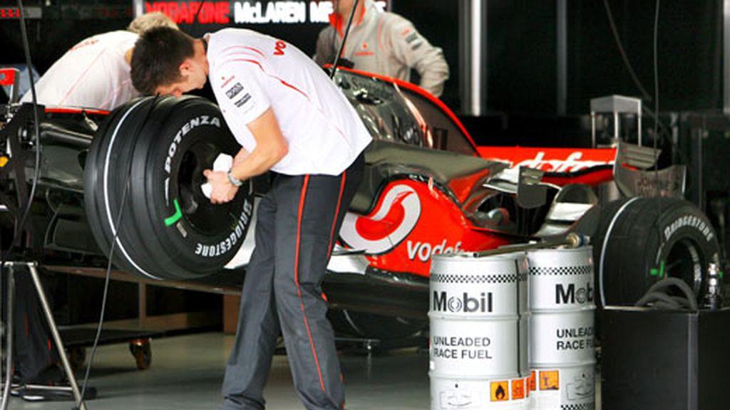 Preparativos en Mercedes