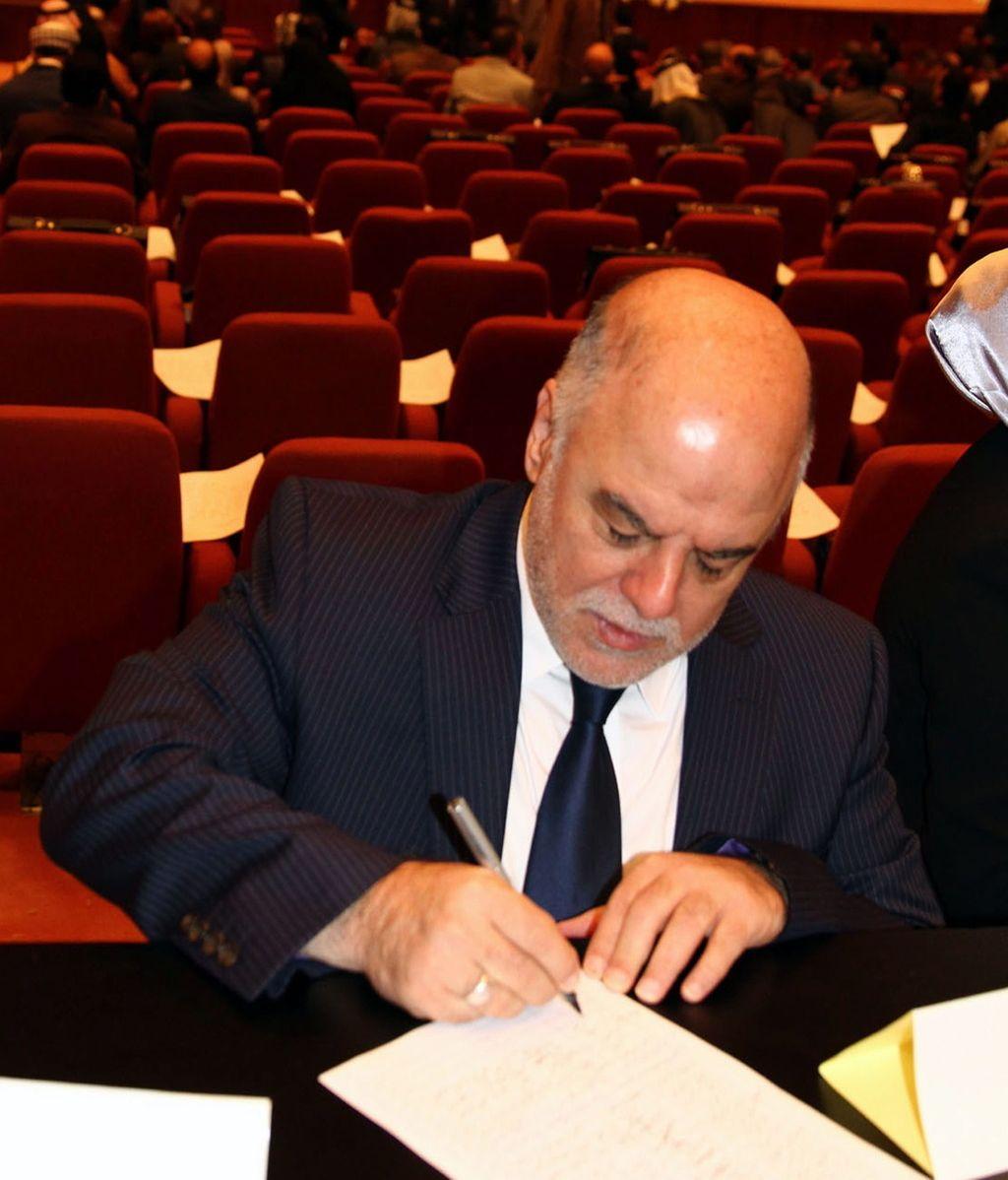 El nuevo primer ministro de Irak, Haider al Abadi.
