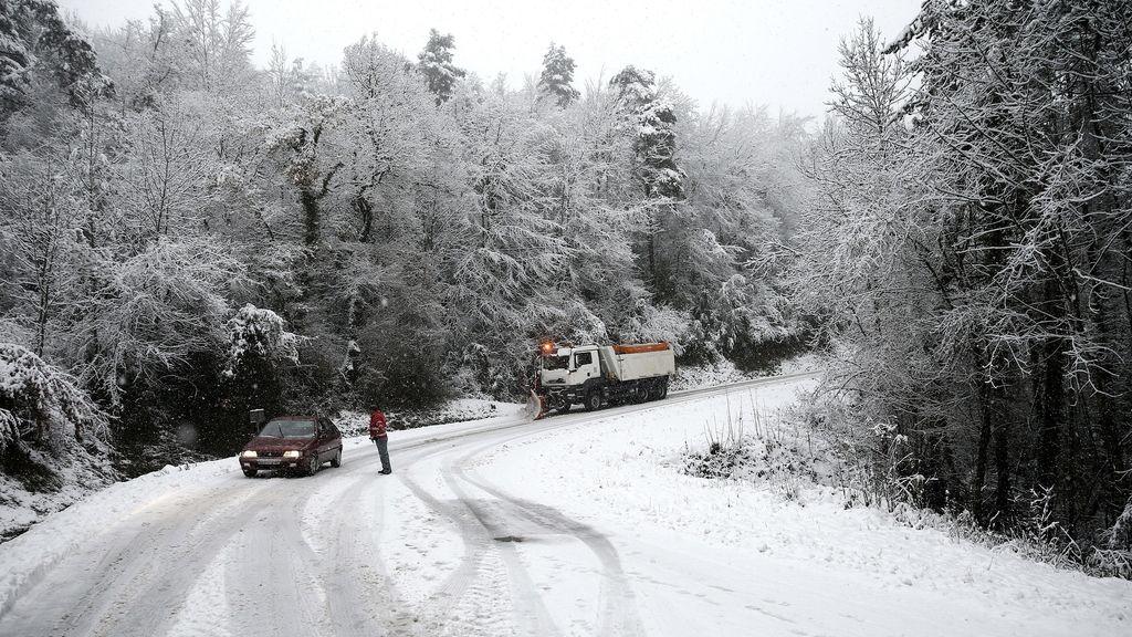 Baja la cota de nieve