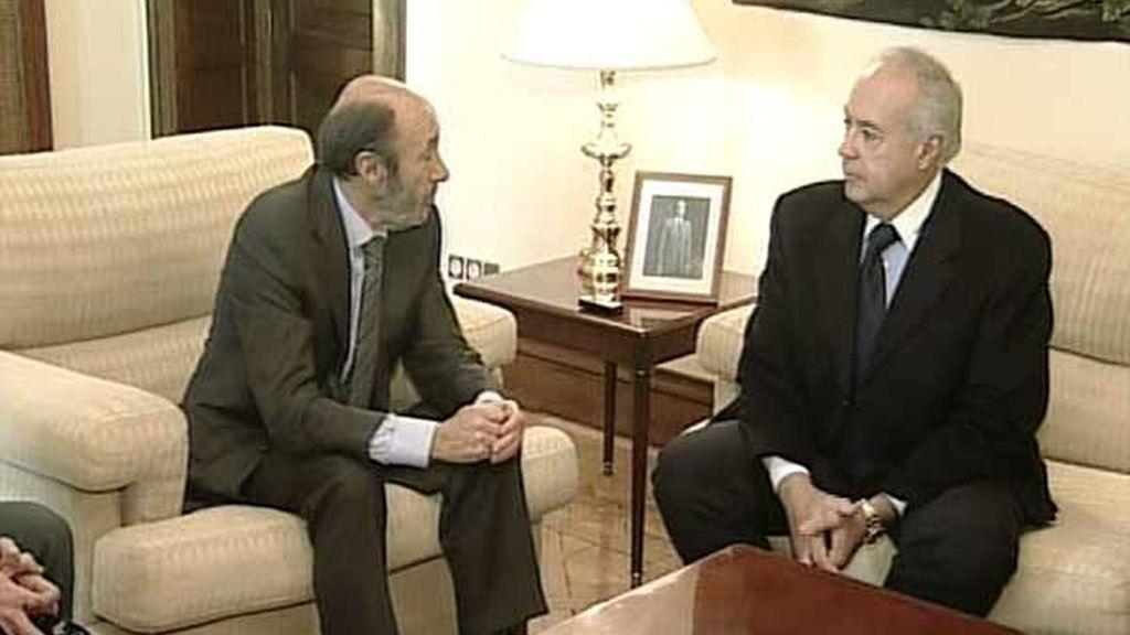 Rubalcaba con José Luis Moreno