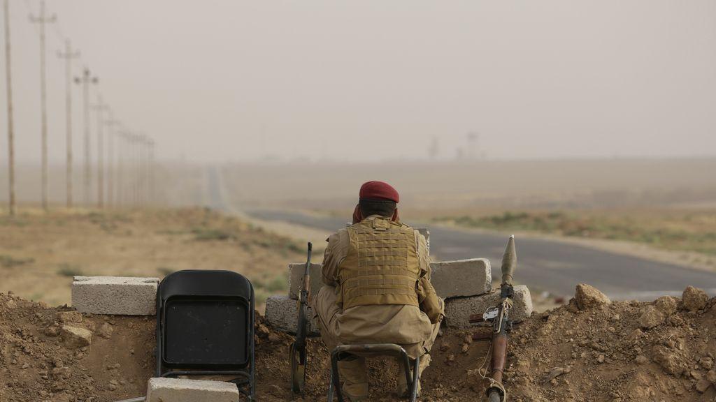 Combates por la presa de Mosul
