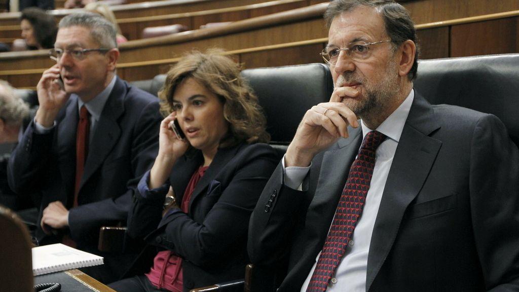 Rajoy informa sobre el último Consejo Europeo en el Congreso