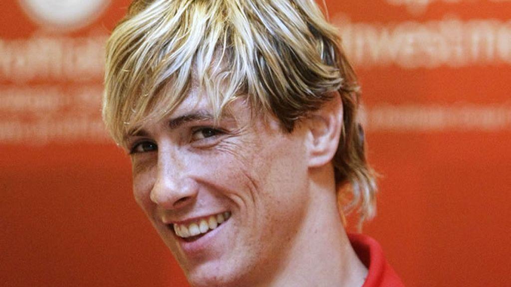El niño Fernando Torres