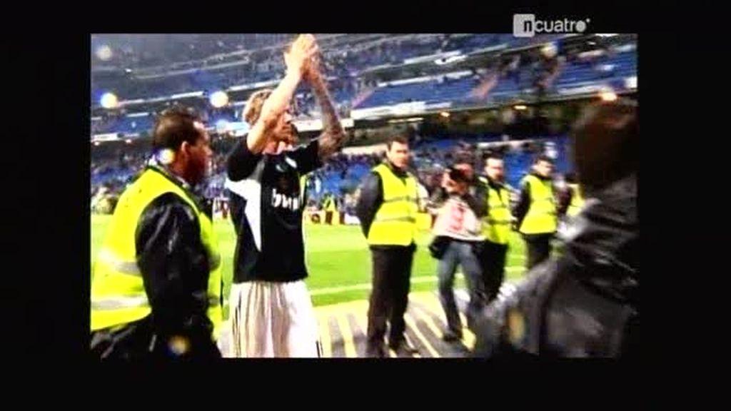 La despedida de Guti en el Bernabéu