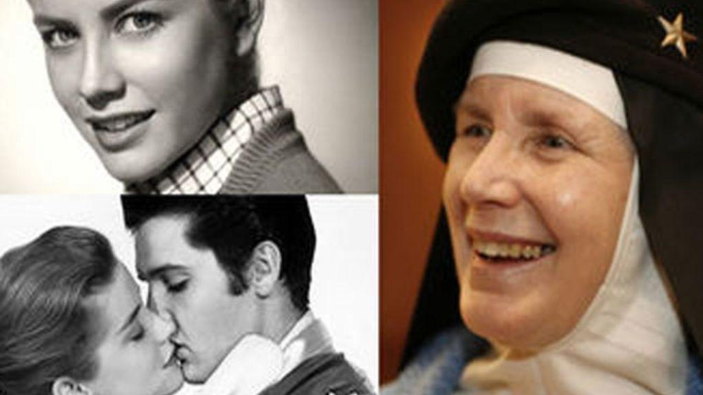 Dolores Hart, la primera actriz que besó a Elvis Presley en una película