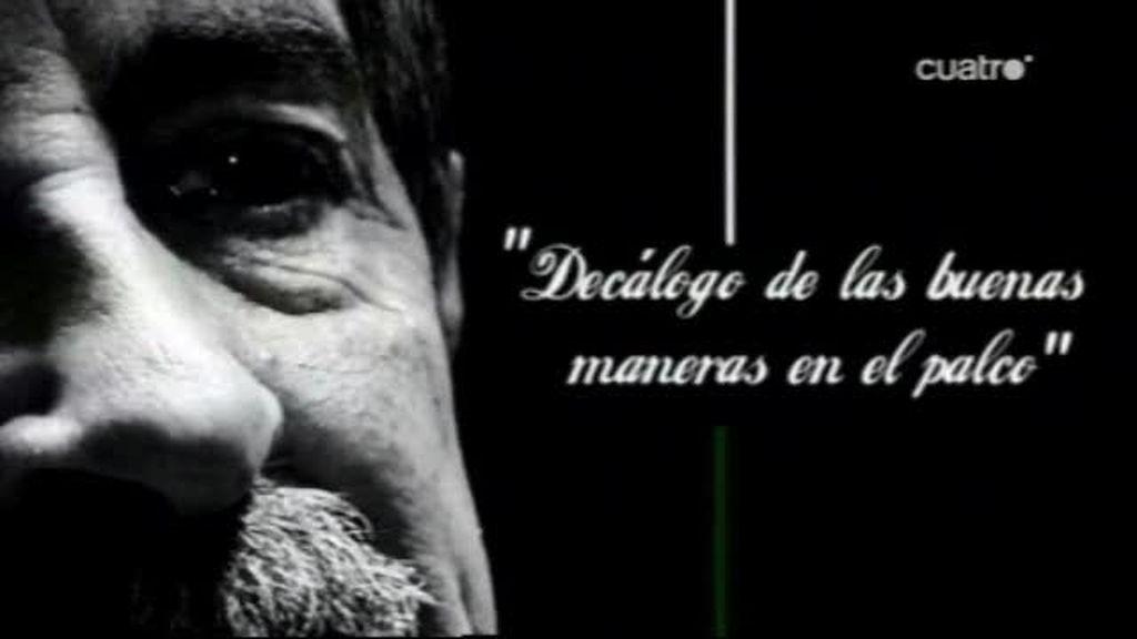 Lección de protocolo de Miguel Ángel Revilla