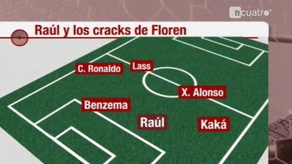 ¿Volverá a jugar Raúl como titular en el Real Madrid?
