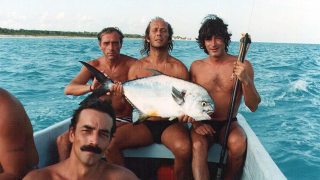 La pesca entre amigos, la gran afición de Paco de Lucía
