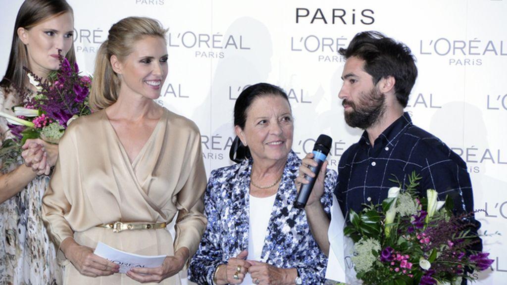 Juan Vidal fue el diseñador ganador del premio L´Oréal, mientras que Alla Kostromichova recogió el de mejor modelo