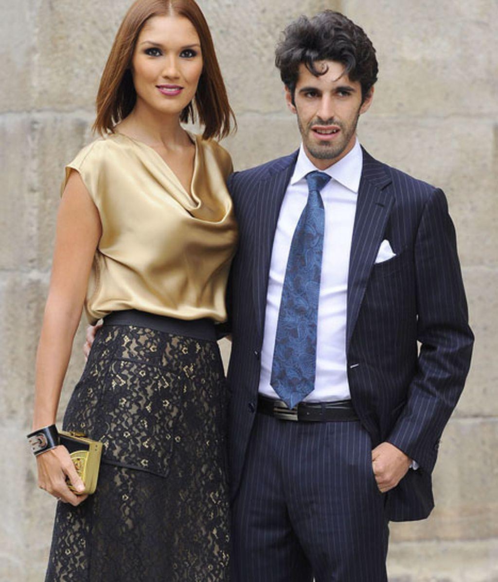 Alejandro Talavante y su mujer, la ex 'miss' Jessica Ramírez