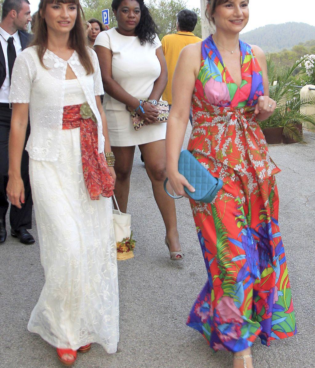 La pareja se casó en La Granja de Esporles, Mallorca