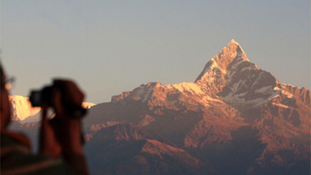 Alpinista español atrapado en la cima del Annapurna