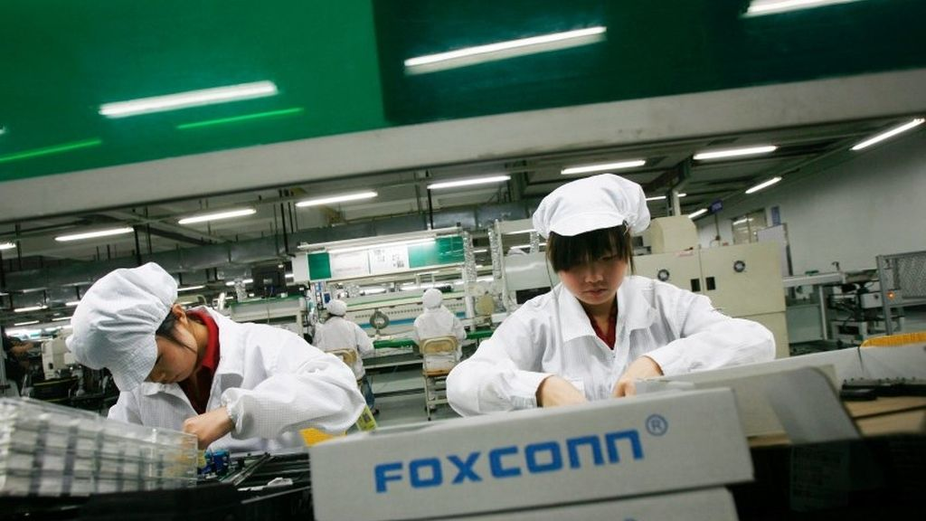 Foxconn, Apple, iPhone, fábrica china