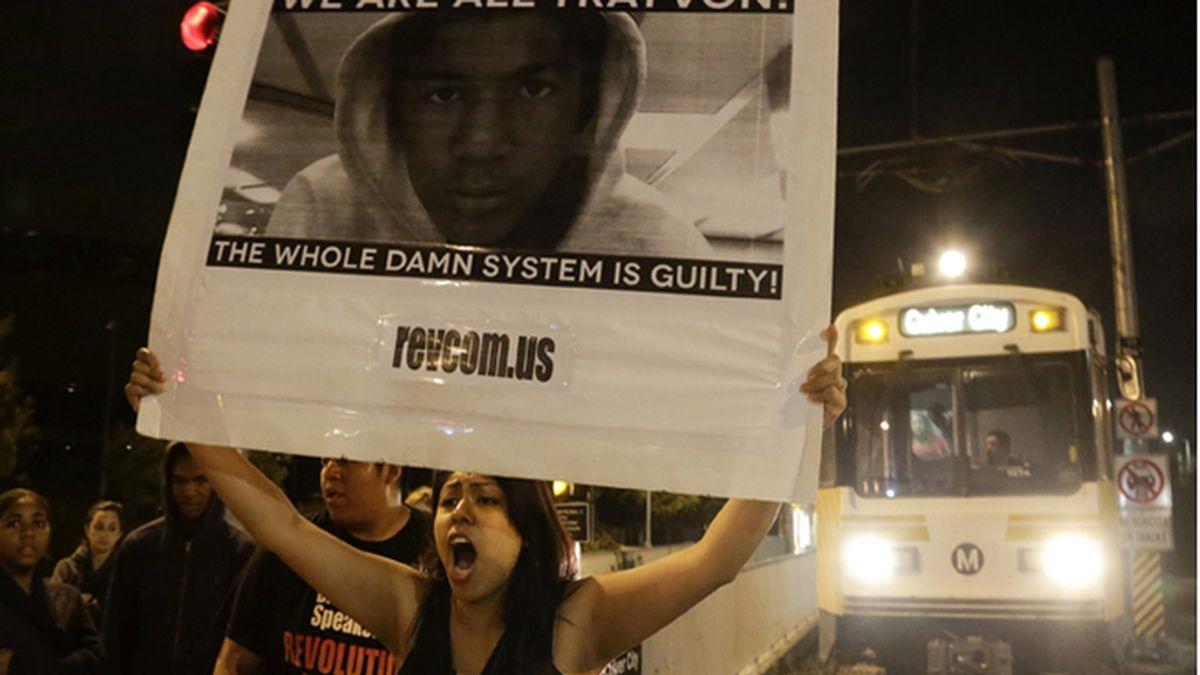 Protestas contra la discriminación racial por la absolución de Zimmerman