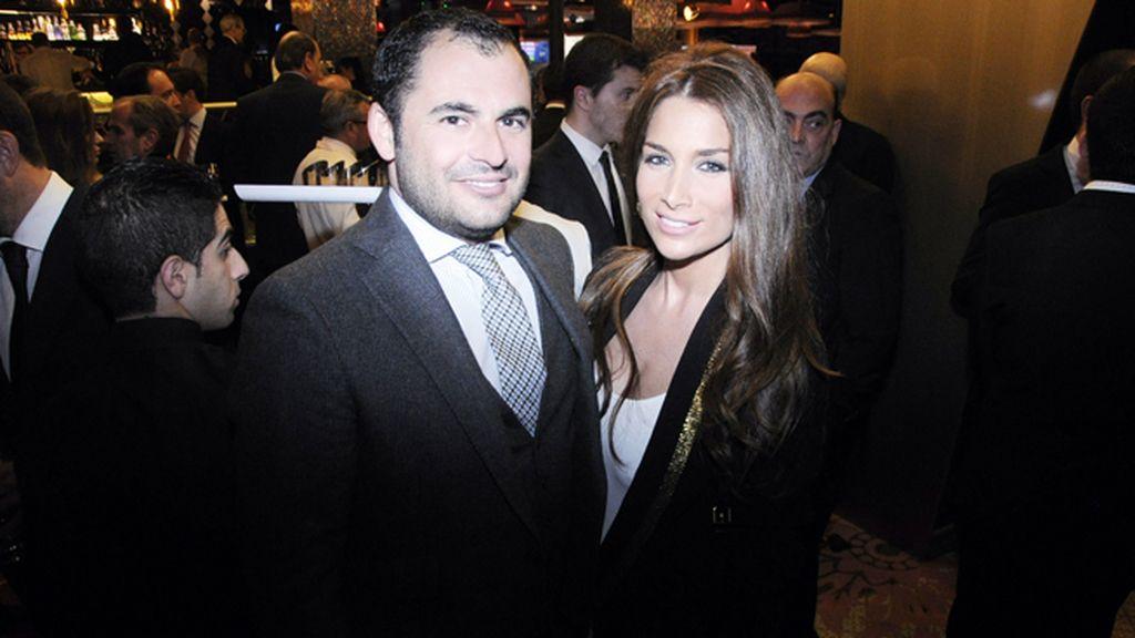 Emiliano Súarez y Jacqueline Sastre