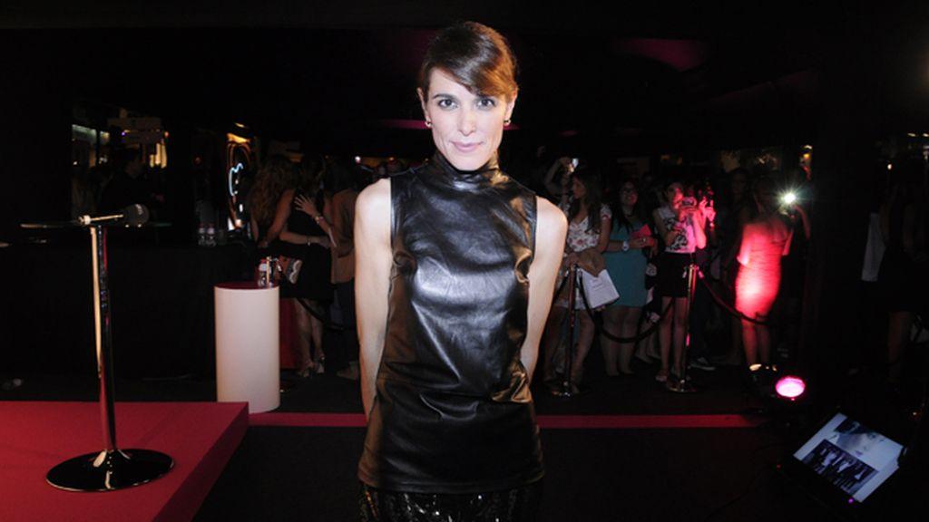 Raquel Sánchez Silva, de Gucci, tuvo el detalle de posar para nosotros