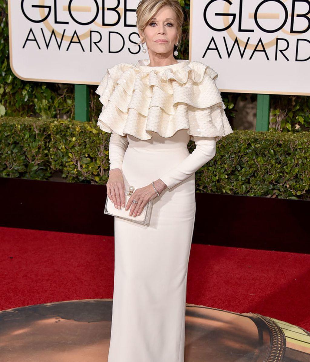 Jane Fonda de Saint Laurent