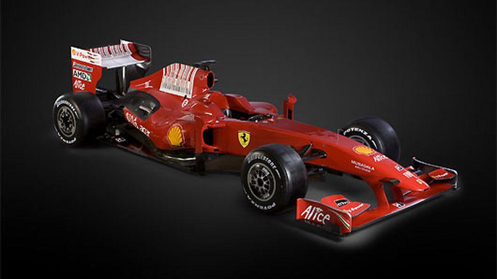 El chásis del F60 está más limpio que nunca de aberturas y apliques aerodinámicos. FOTO: Ferrari.