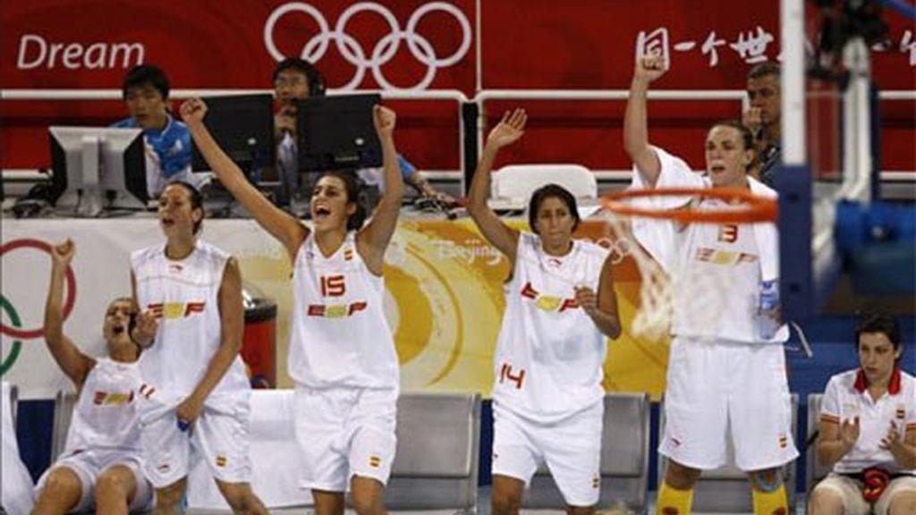 74-55. España logra una victoria clave ante la República Checa