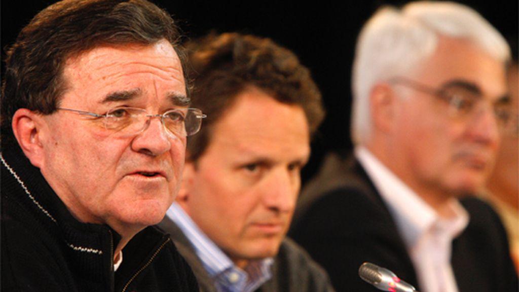 Ministro de Finanzas de Canadá Jim Flaherty