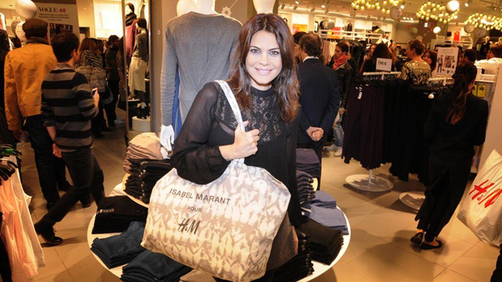 María José Suárez también se hizo con un buen botín en esta venta especial