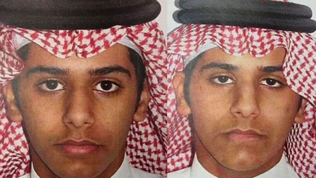 Los hermanos Khaled y Saleh al-Oraini fueron detenidos en la frontera con Yemen