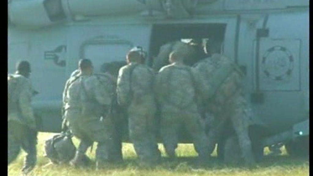 El desembarco de marines en Haití