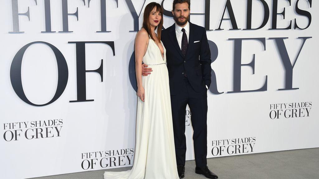 Londres enloquece con '50 sombras de Grey'