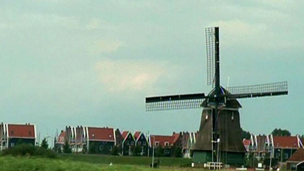 Un molino, ¡estás en Holanda!