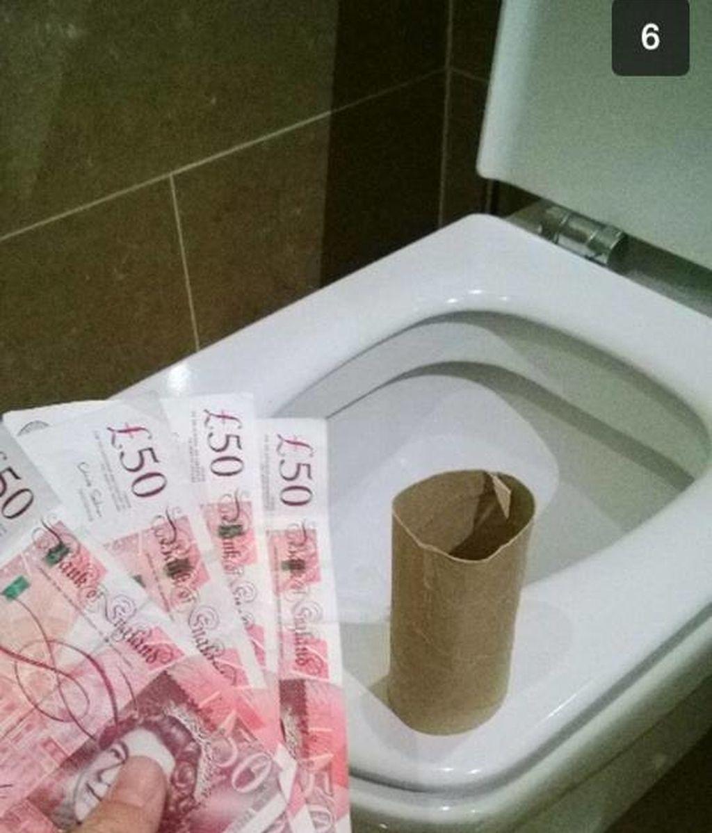 Lo que uso cuando me falta papel higiénico en el baño