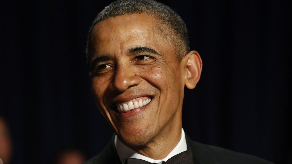 Obama recuerda a las víctimas de Boston en la cordial Cena de Corresponsales