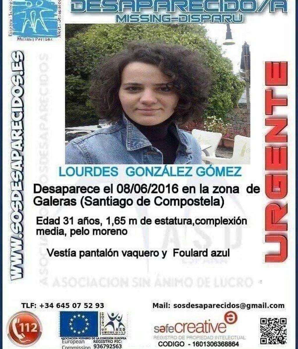 Desaparecida en Santiago de Compostela