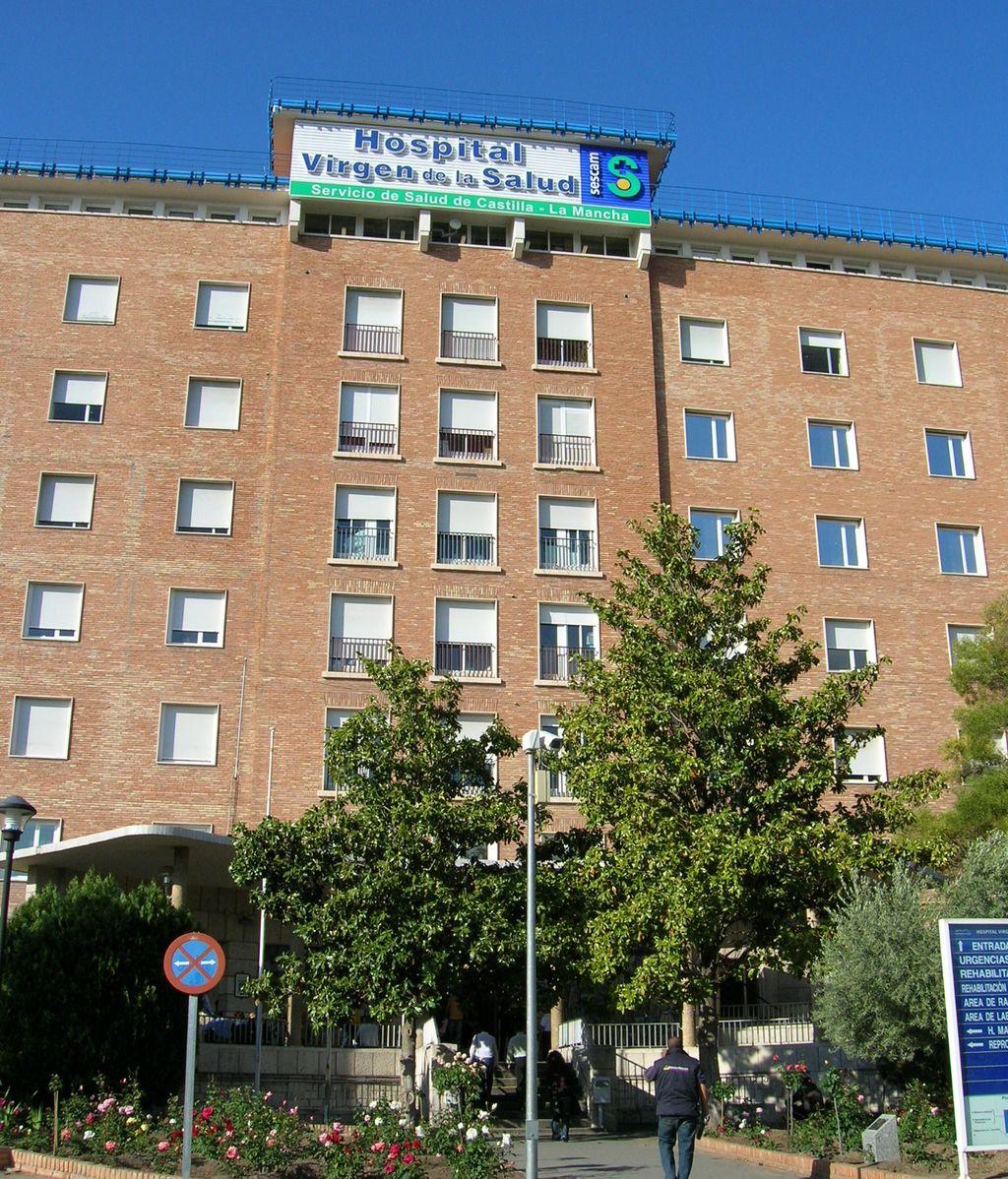 Las dos menores está ingresadas en  Hospital Virgen de la Salud