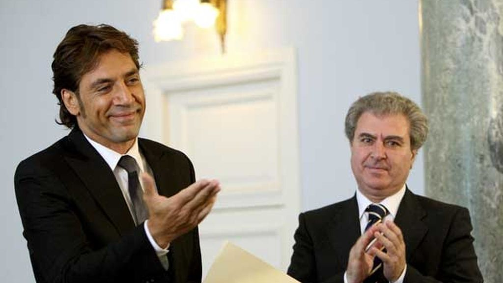 JAVIER BARDEM RECIBE EL PREMIO NACIONAL DE CINE