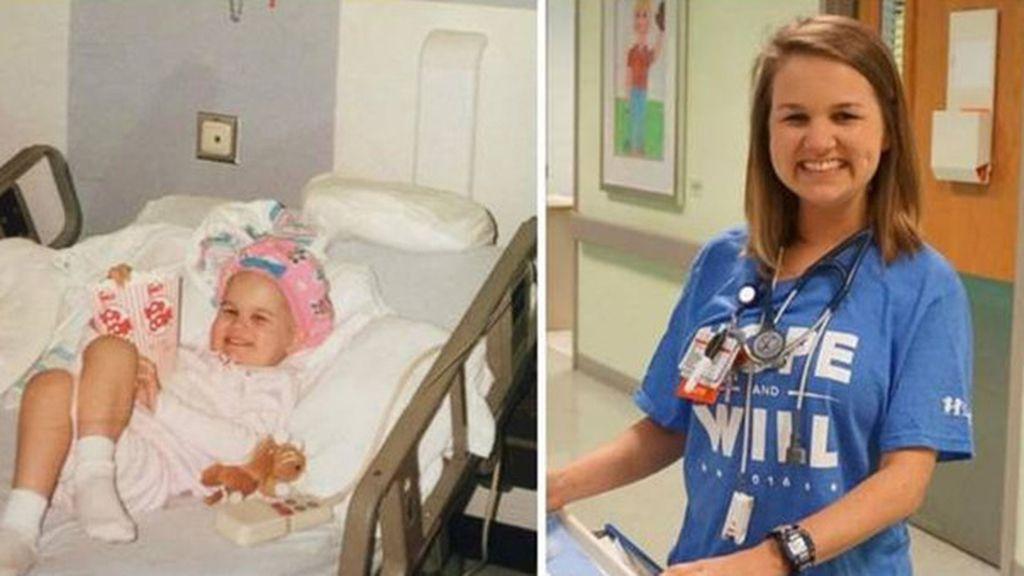 Entra a trabajar al hospital en el que se le salvó la vida