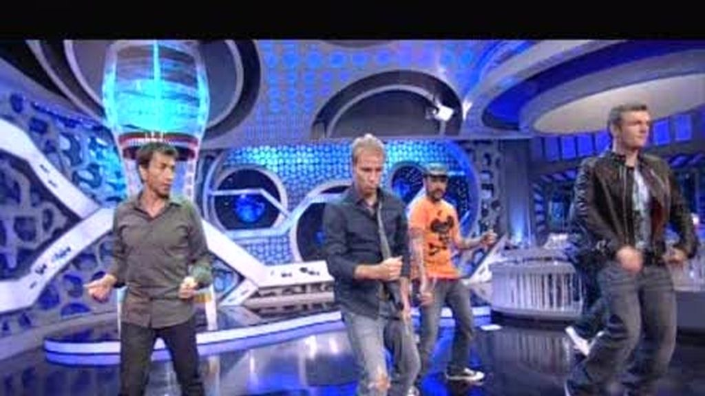 ¡Pablo Motos baila como un Backstreet Boy más!