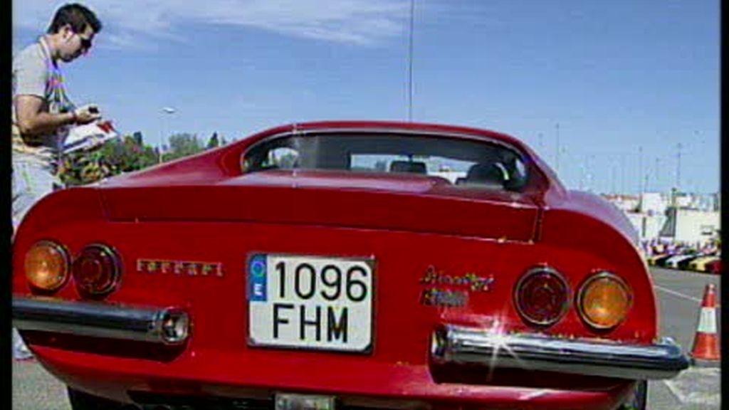 Concentración de Ferrari en Sevilla
