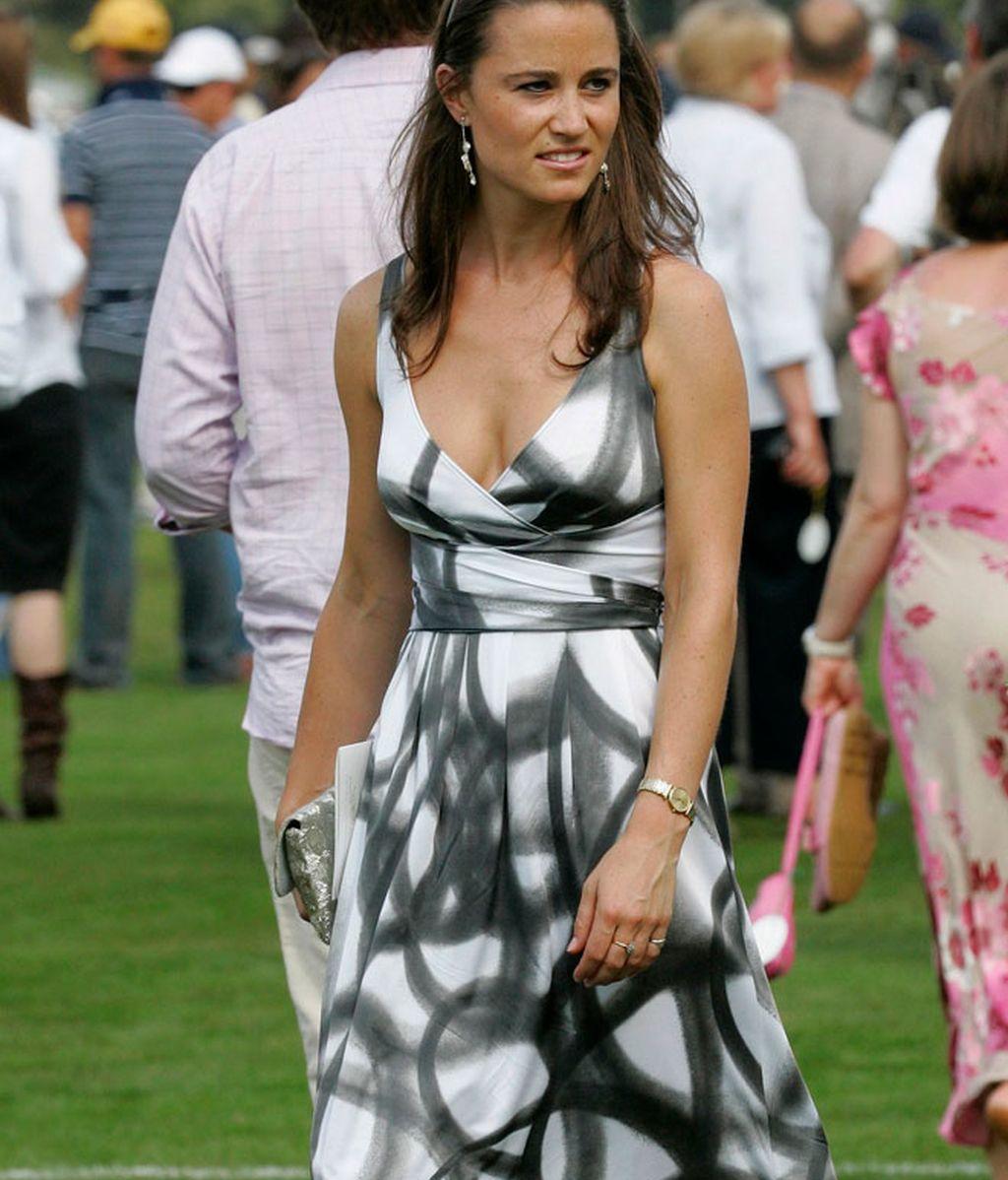 Pippa Middleton, actriz secundaria
