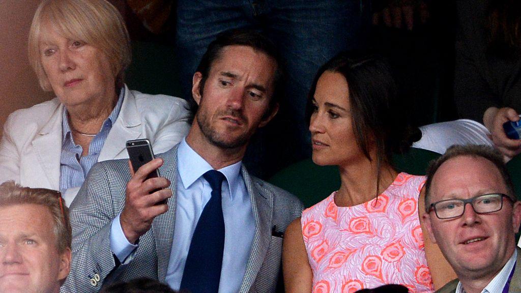 Pippa Middleton y su novio James Matthews