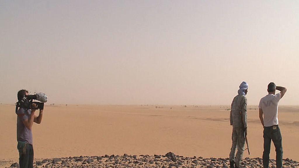 Impresionantes vistas del desierto del Sáhara