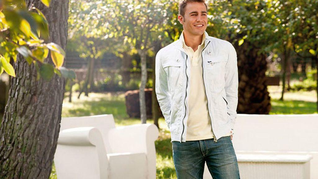 Cannavaro vuelve a hacer de modelo