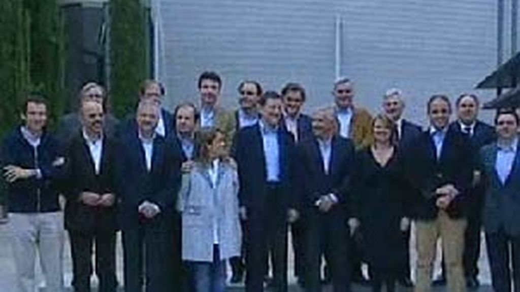 Rajoy, en Valladolid. Vídeo: Atlas