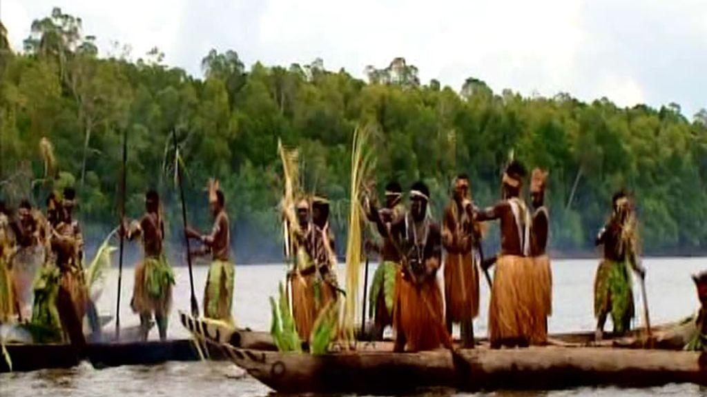 El Kaware, el rito de los kamoro