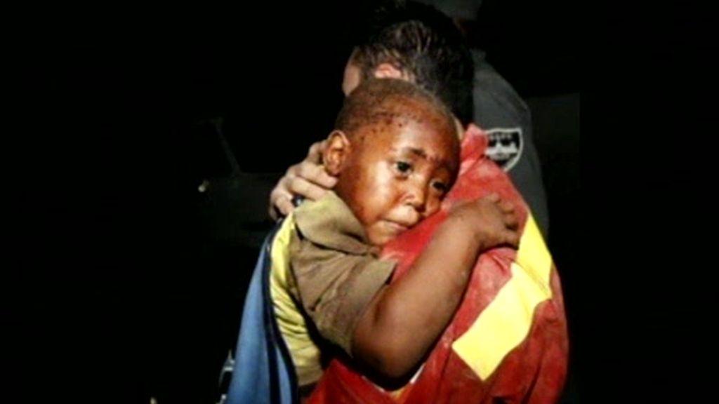 Los niños en Haití están en peligro