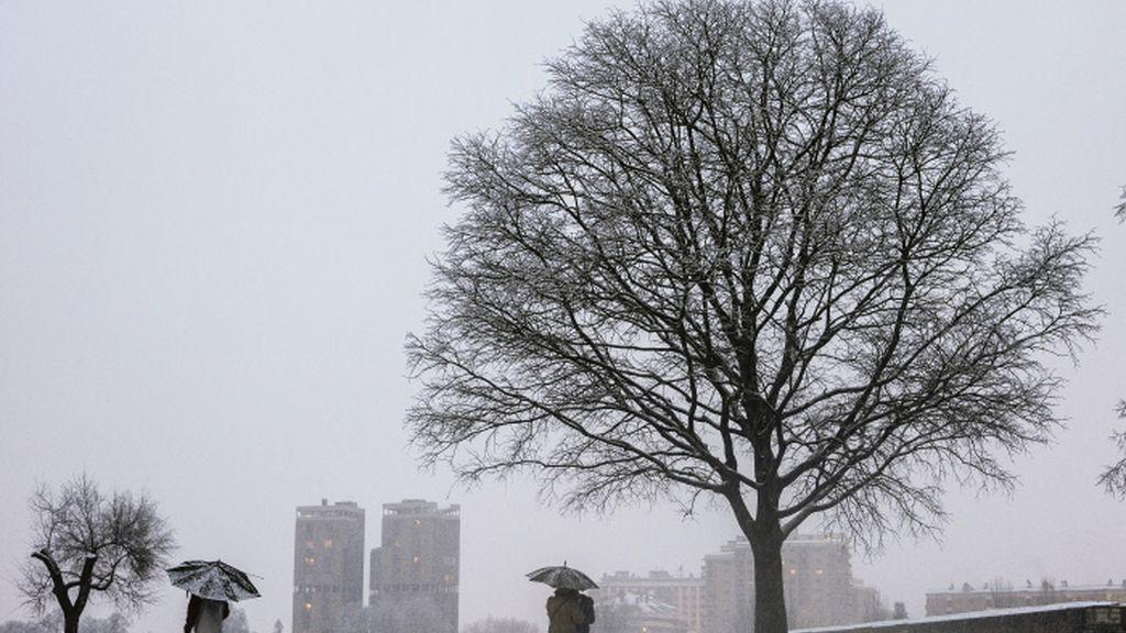 Una masa de aire frío provocará nevadas persistentes y frío ártico en España