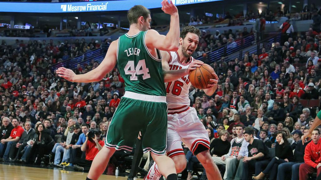Pau Gasol lidera a Chicago con números de 'All Star'