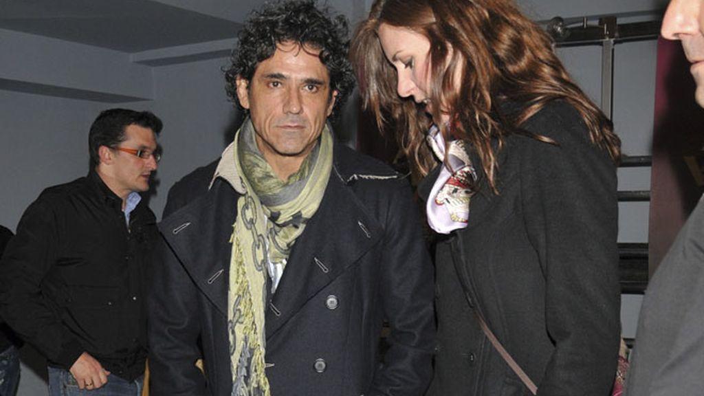 Miguel Bosé llena su concierto de famosos